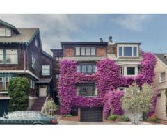 4-Level Home w/ Beautiful Facade in Grt Cow Hollow Location